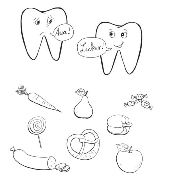 gesunde ernährung - was ist gesund für die zähne? | klett