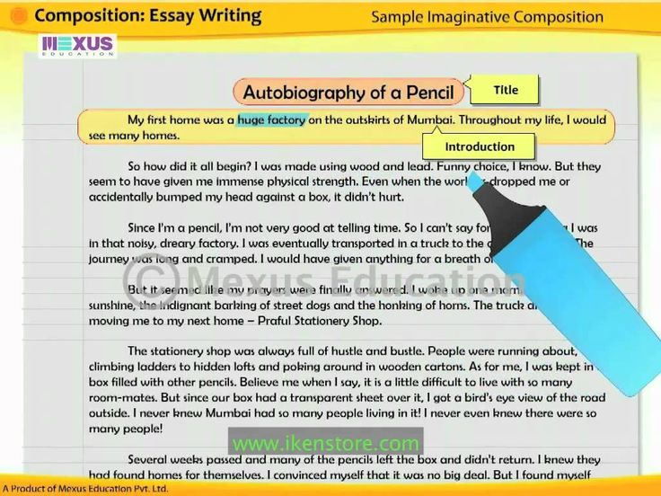 write essay words