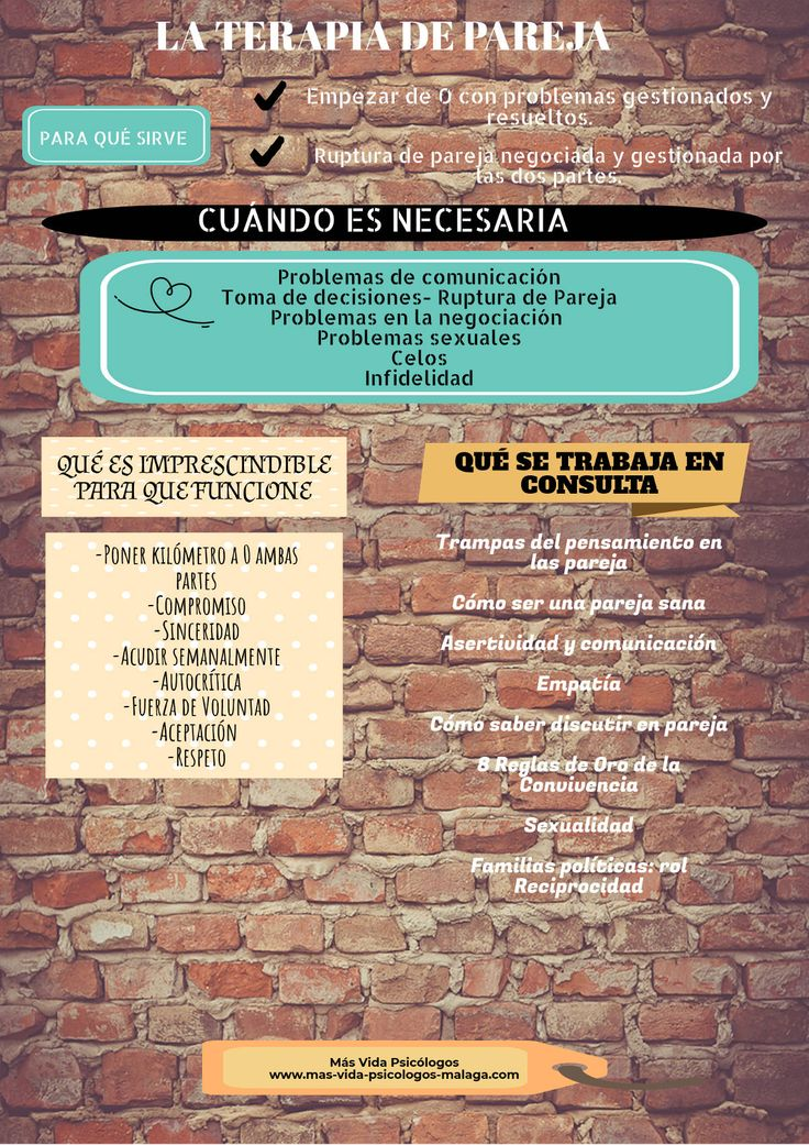 Terapia de pareja Mas Vida Psicólogos Málaga