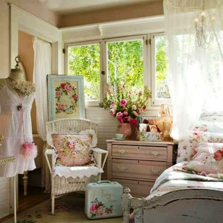 Shabby Chic Bedroom Ideas: Shabby Chic Inspirations! Images On