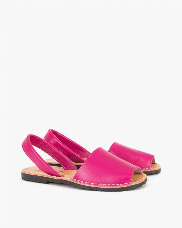 Sandaly 009 102 Fuksja Shoes Mule Shoe Mules