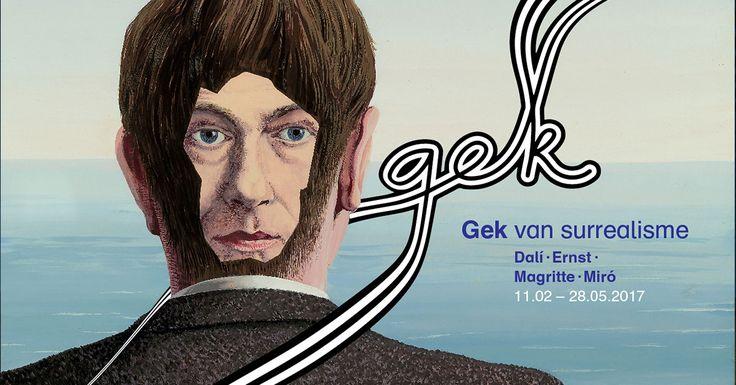 t.m 28 mei  Gek van surrealisme Booijmans Rotterdam