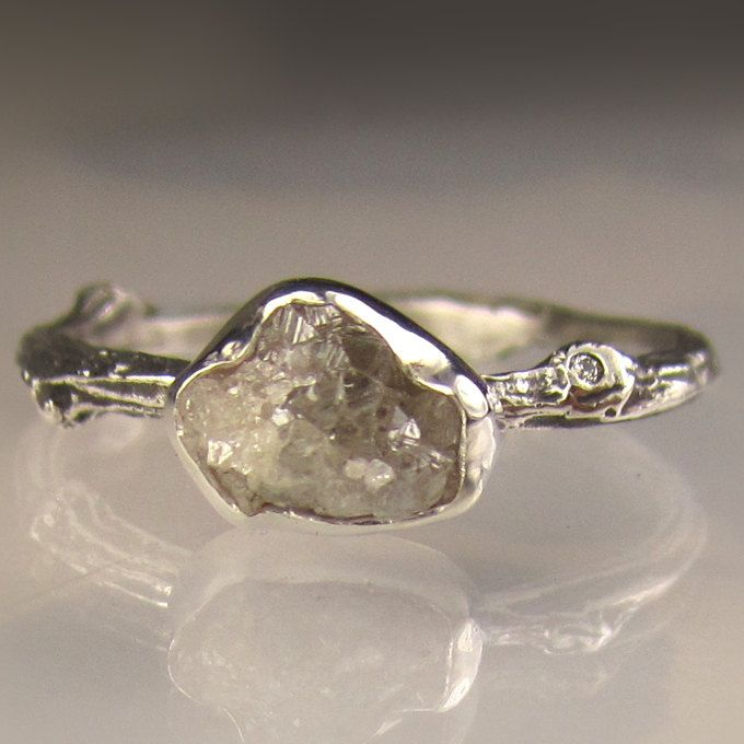 rough diamond twig ring.....i WILL have this....one day...