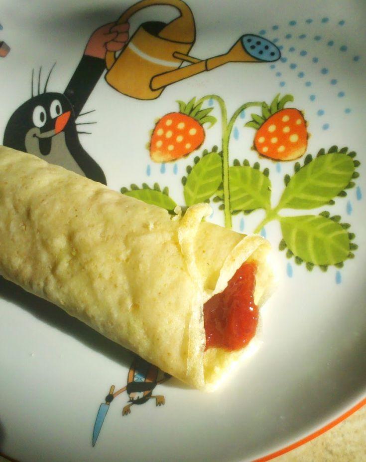 głodny alergik :): Naleśniki (bez glutenu, jajek i mleka)