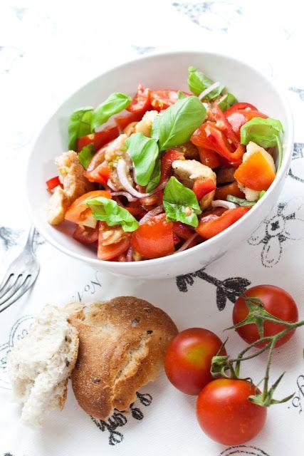 Cucinare con amore: Panzanella aneb letní toskánský salát