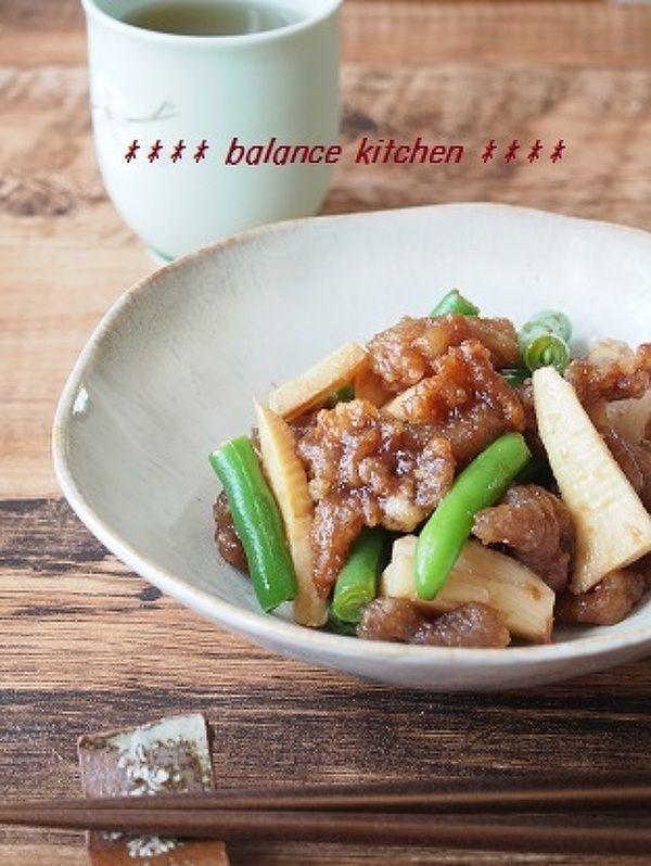 【作り置き】簡単!豚肉とたけのこの梅だれあえ by 河埜 玲子 | レシピサイト「Nadia | ナディア」プロの料理を無料で検索