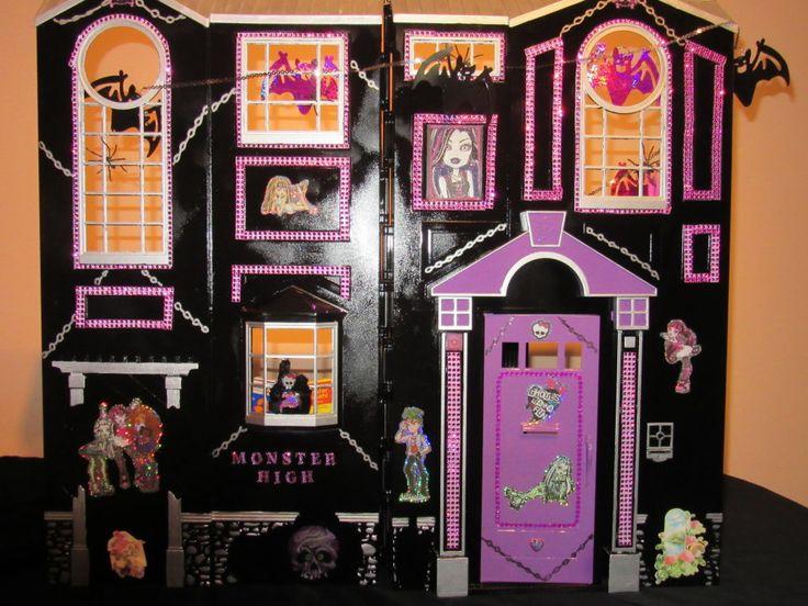 Monster High Kinderzimmer | 405 Besten Monster High House Bilder Auf Pinterest Puppenhauser
