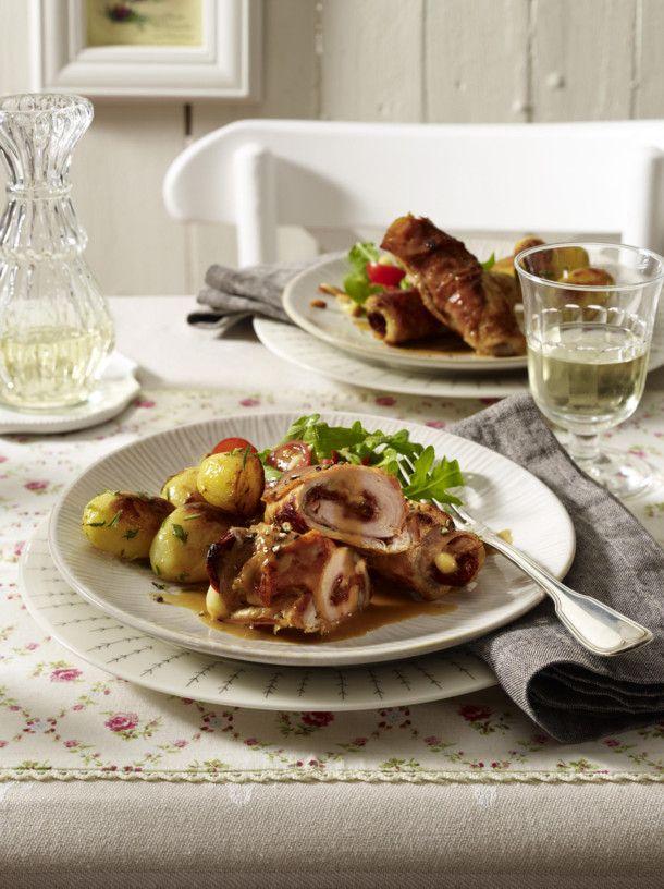 Unser beliebtes Rezept für Involtini mit Rosmarinkartoffeln und mehr als 55.000 weitere kostenlose Rezepte auf LECKER.de.