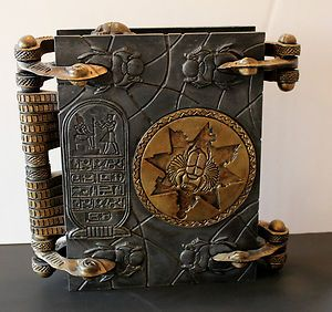 My kind of movie prop--The Book of The Dead - from The Mummy (Universal-1999).