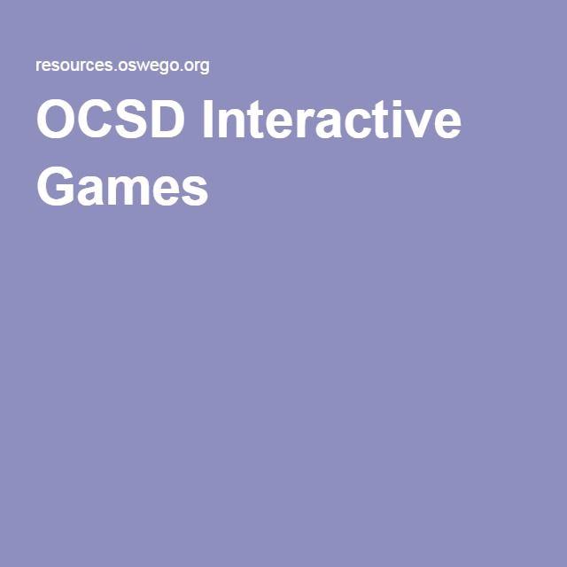 OCSD Interactive Games