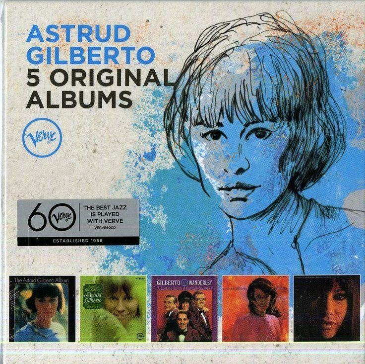 GILBERTO ASTRUD - 5 ORIGINAL ALBUMS - BOX 5  CD  http://ebay.eu/1sIHRJw