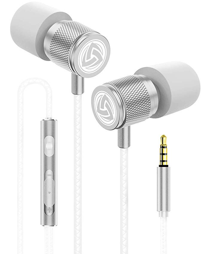Ludos Ultra Kopfhorer In Ear Kopfhorer Kabel Headphones Mit Mikrofon Kristallklarer Klang Ausge In 2020 Kopfhorer Kabel In Ear Kopfhorer Mikrofon