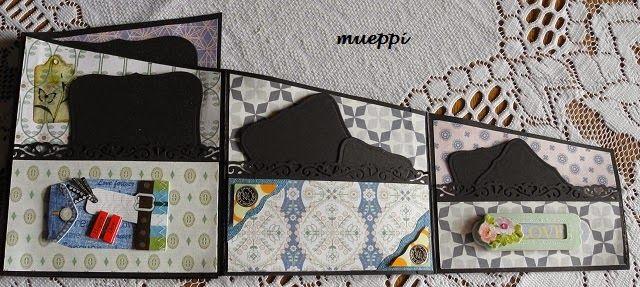 mueppi`s bunte Strick- und Kartenwelt: Zick - Zack - Album: