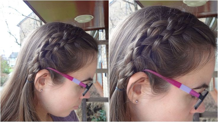 DIY 5 strand headband braid - English