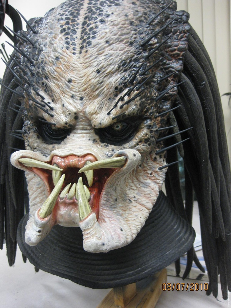 Predator (1987) movie props New Predator 1 mask