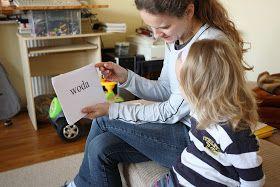 Być matką...: Nauka czytania