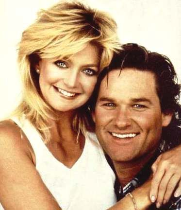 "Goldie Hawn & Kurt Russell - if only all relationships could be like theirs - key words ""don't get married""!! `j"