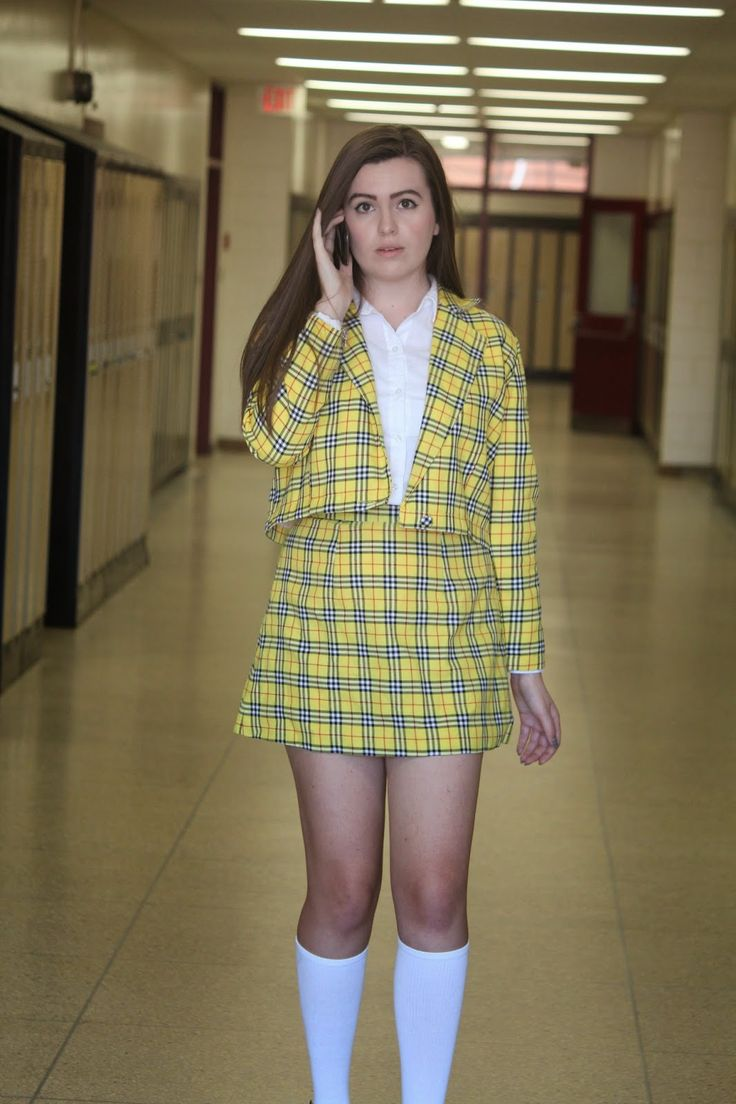 Cher Horowitz Yellow Outfit