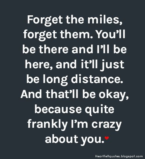 Long distance relationship love quotes.