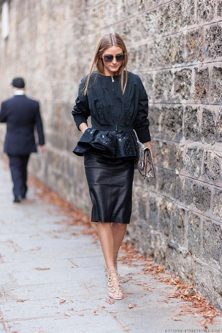 Olivia Palermo. Paris Fashion Week Spring. street style fashion