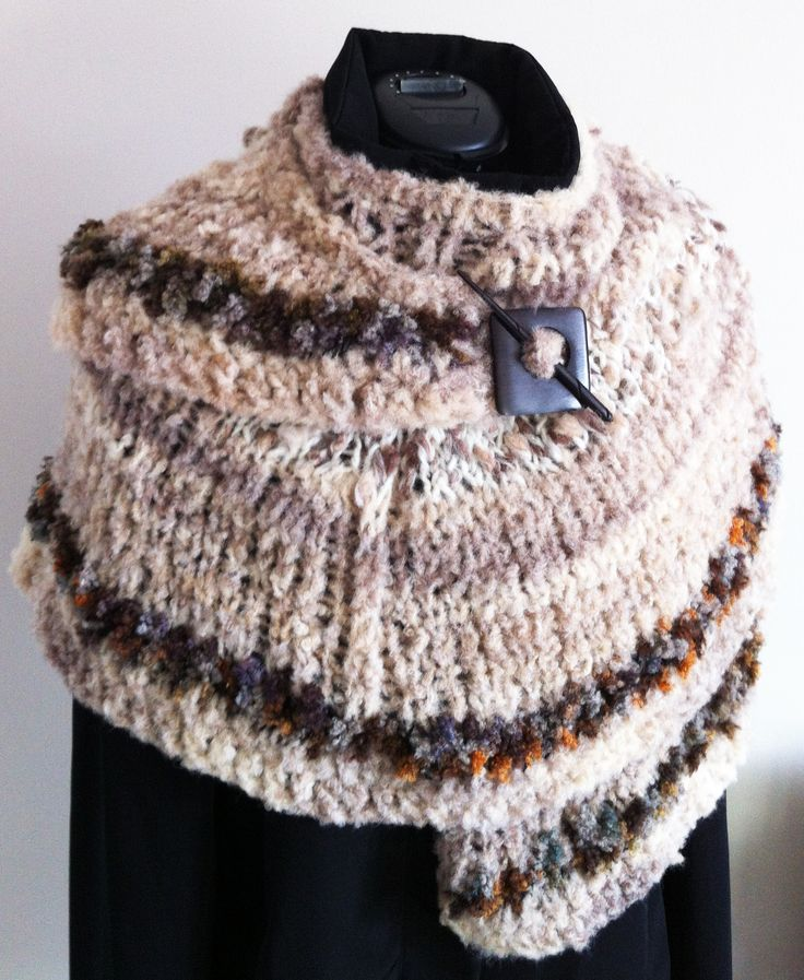 Champagne shawl - wrap yourself in warmth and style this winter