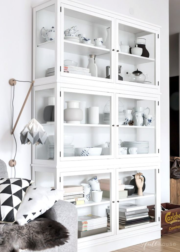 perfect glass cabinet by Oliver Furniture