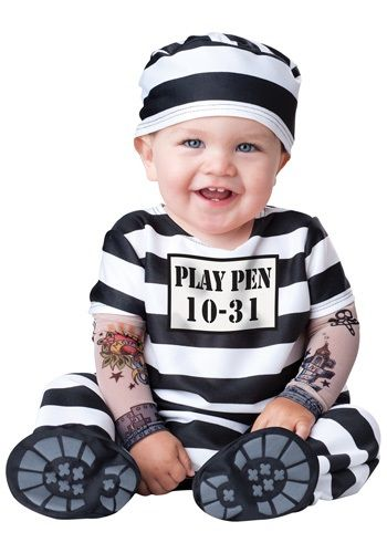 Infant Jail Costume //.american-checkout.com/  sc 1 st  Pinterest : jail costume for kids  - Germanpascual.Com