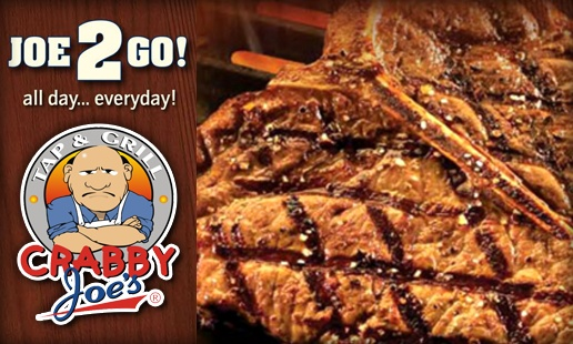 Crabby Joe's -- Deal: Save 10% Off on total food bill.