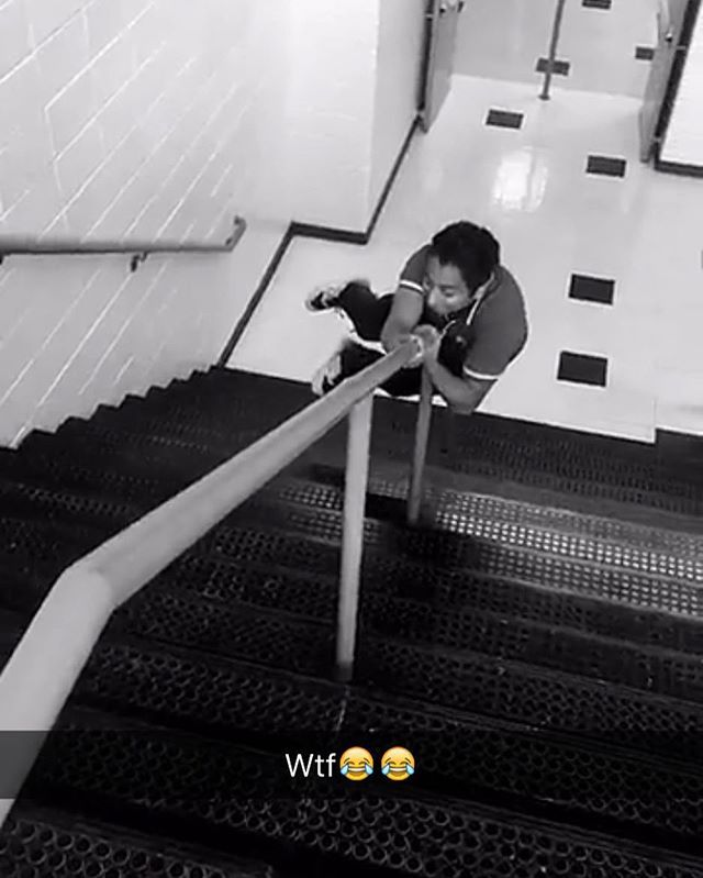 Here's Tony Revolori (he's in the SpiderMan Homecoming movie with Z) on Z's snapchat today, so she's obviously on set. And this also must be the school set in the background! #spidermanhomecoming #zendaya #tonyrevolori #tomholland #spiderman