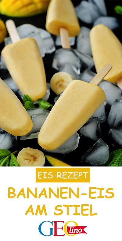 Bananeneis: Rezept