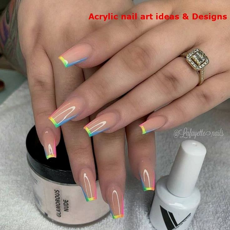 20 Great Ideas How To Make Acrylic Nails By Yourself 1 In 2020 Nails Design With Rhinestones Acrylic Nail Designs Acrylic Nails