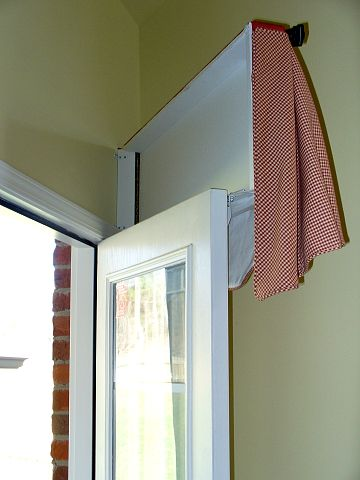 15 Best Swing Door Solutions Images On Pinterest Sheet Curtains