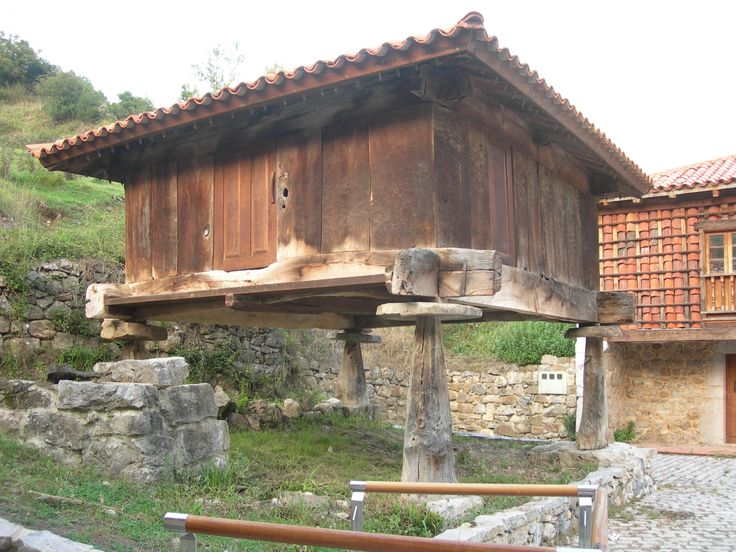 Típico Horreo Asturiano