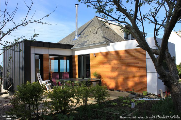 Extension et r novation d 39 une maison des ann es 50 for Agrandissement maison 69