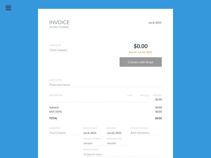 392 best Flat \/ Minimal Design Inspiration images on Pinterest - send an invoice