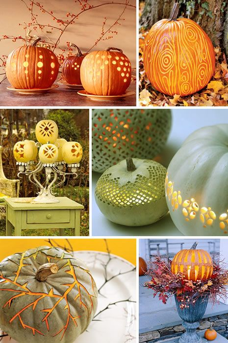 Not all pumpkins have to be spooky --check these gorgeous pumpkins for a less traditional look.