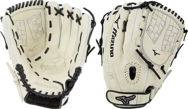 Mizuno GMVP1250PSEF6 12.5 Fastpitch Softball Glove MVP Prime Infield Silver