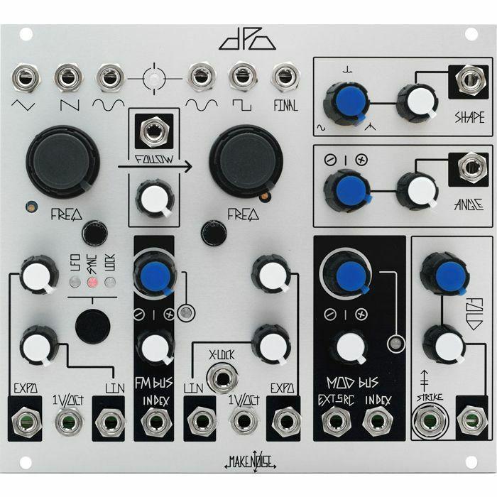 Make Noise DPO Dual Voltage Controlled Oscillator Module