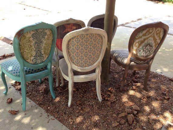Trône à manger chaises Texas Decor Français par THRONEupholstery