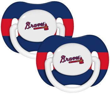 Atlanta Braves Baby Pacifier