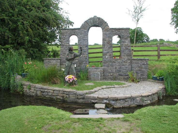 """St. Brigid's Holy Well in Kildare, Ireland. The so-called """"Christian well"""" — the """"Pagan well"""" is just a short walk away!"""