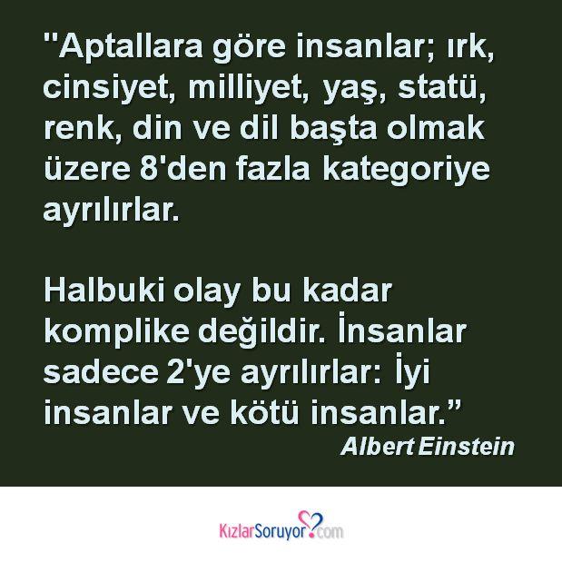 Einstein sizce haklı mı? http://www.kizlarsoruyor.com/Flort-Sorulari/102123-iyi-olmak-mi-iyi-kotu-olmak-mi.html #einstein