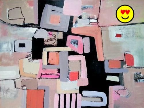 Abstract, Contemporary, Modern and #Original Art. Acrylic on canvas. Size: 30x40x0.7 inches. A mixed media work created using spatulas and brushes. I use archiva...