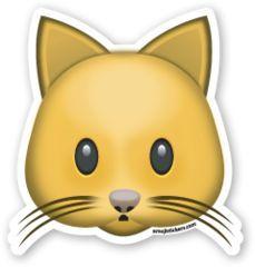 Cat Face | Emoji Stickers: