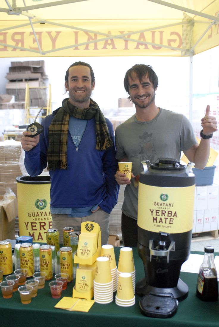 Our friends at Guayaki introducing their Yerba Maté selection at our Open House event #yerbayes #openhouse2015