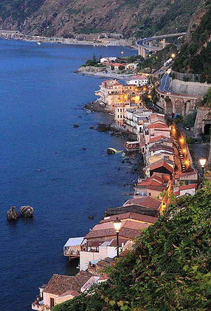 Scilla, Calabrië, Italië