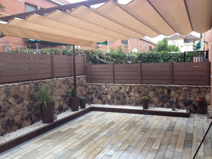 8 best vallas de exterior de madera sinteticas images on - Vallas para muros ...