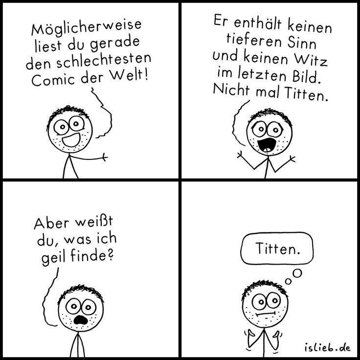 Schlechtester Comic | #witz #flach #brüste #islieb