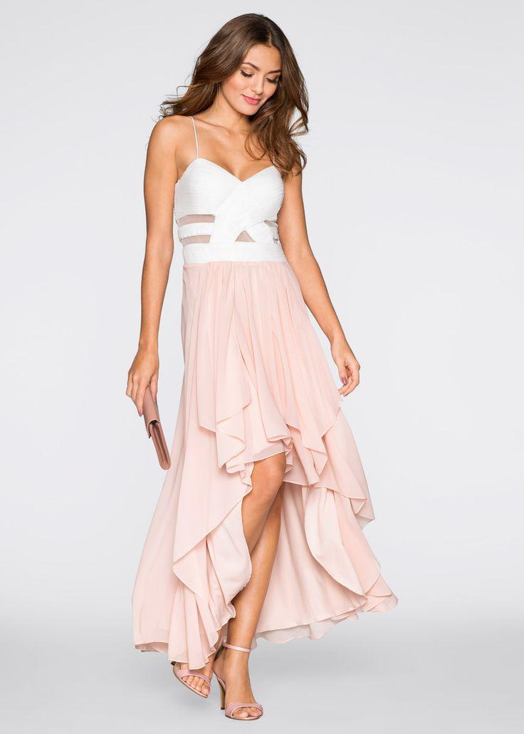 Kleid, BODYFLIRT, weiß/rosa