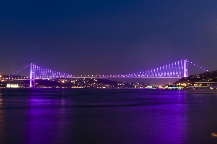to have this view while having my early breakfasts :)  İstanbul / Turkey - Boğaziçi Köprüsü